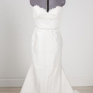 Tara Keely 2308 Wedding Dress Size 14 (fits 10)